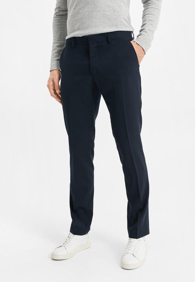 WE Fashion - DALI - Suit trousers - dark blue