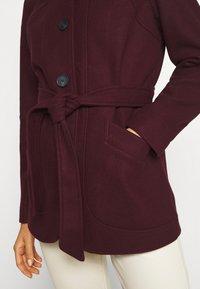 ONLY - ONLCHANETT JACKET  - Classic coat - port royale - 5