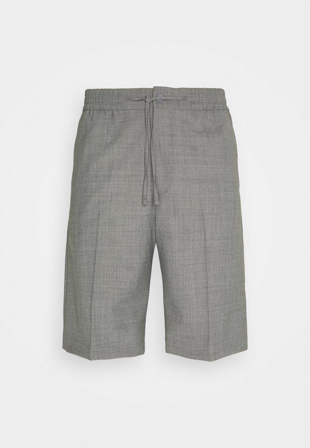 DRIAN - Shorts - grey melange