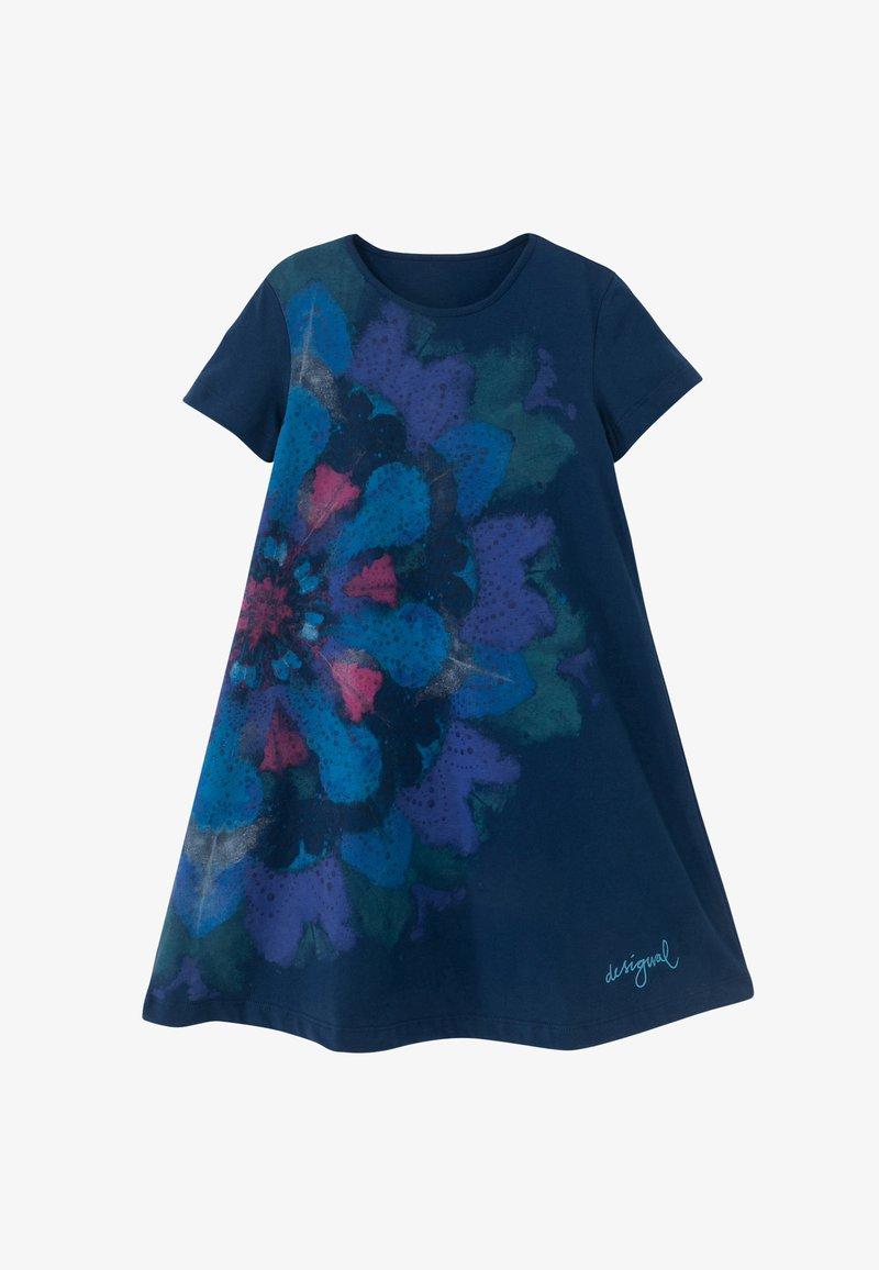 Desigual - Jersey dress - blue