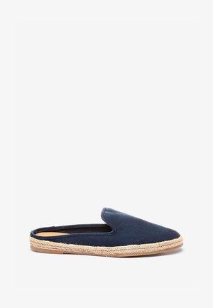 Sandalias planas - dark blue