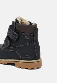 TOM TAILOR - UNISEX - Winter boots - navy - 4