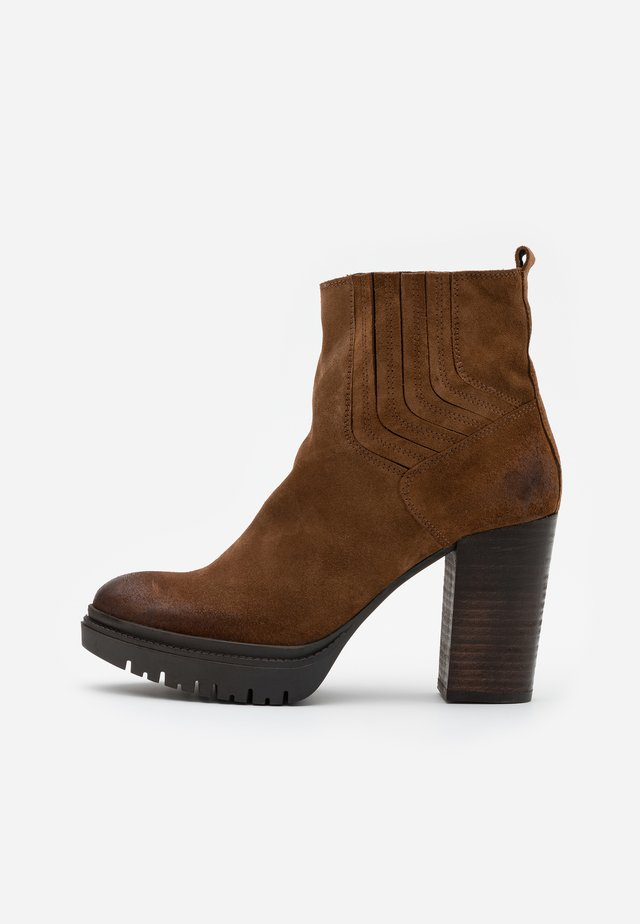 JANICE - High heeled ankle boots - marvin brown