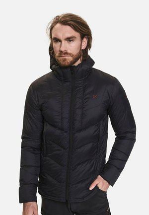 DAUNENJACKE RAI - Down jacket - black