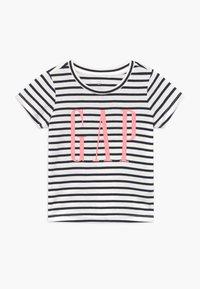 GAP - TODDLER GIRL LOGO  - T-shirt print - navy - 0