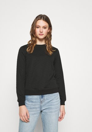 ONLJOYCE O-NECK  - Sweatshirt - black