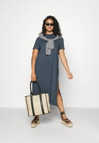 Simply Be - MIDI DRESS WITH SIDE SPLIT - Day dress - charcoal - 1