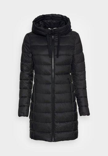 SHAPED FIT ZIPPER  - Winter coat - black