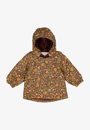 SASCHA TECH - Hardshell jacket - maroon flowers