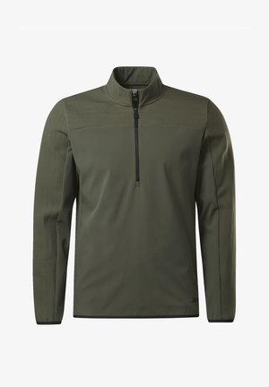 THERMOWARM DELTAPEAK QUARTER-ZIP - Sweatshirt - green