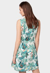 TOM TAILOR DENIM - Day dress - off white tropical - 2