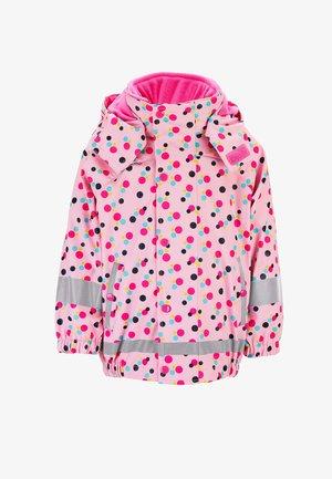 REGENJACKE MIT INNENJACKE - Outdoor jacket - rosa