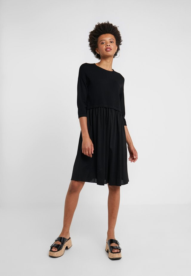 MINCIO - Jumper dress - schwarz