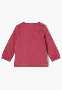 s.Oliver - MIT WORDING-APPLIKATION - Long sleeved top - pink - 1
