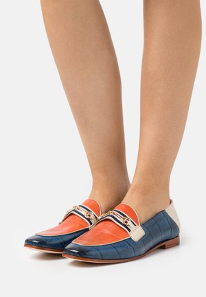 SCARLETT 45 - Loafers - vegas/turtle/navy/fiesta/white/gold/french/natural
