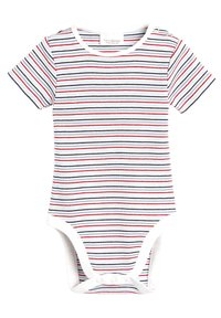 Next - RED DUNGAREES AND BODYSUIT SET (0MTHS-2YRS) - Body - red - 2