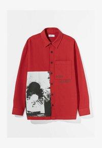 Bershka - Summer jacket - red - 4