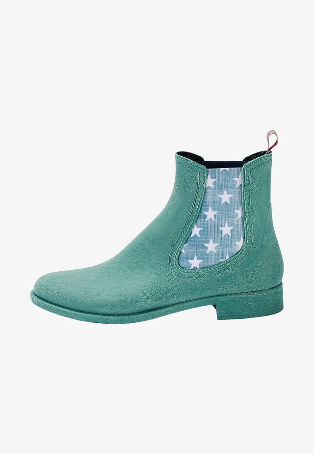 Classic ankle boots - sage