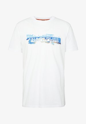 SOBAR GRAPHIC FT5 - T-shirt med print - white