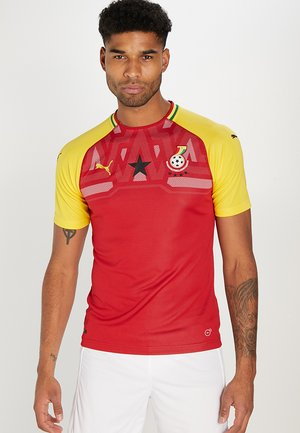 GFA GHANA HOME REPLICA - National team wear - chili pepper/dandelion