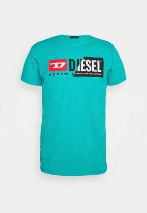 DIEGO CUTY - Print T-shirt - mint