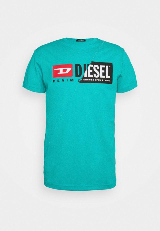 DIEGO CUTY - T-shirt con stampa - mint