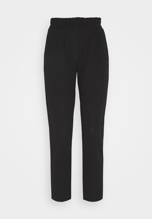 Casual Trousers - Kalhoty - black