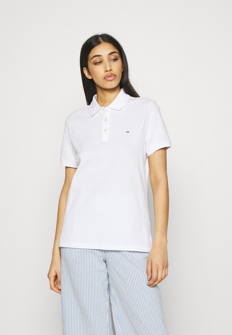 Tommy Jeans - Polo shirt - white