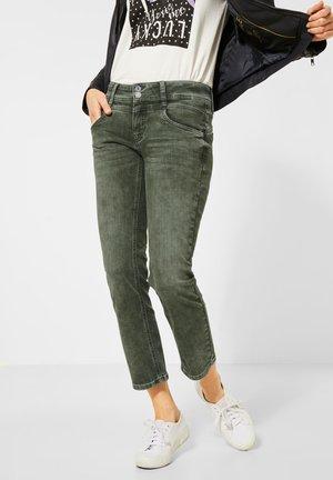 Straight leg jeans - grün
