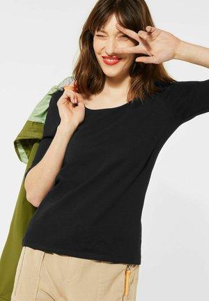 BASIC STYLE - Long sleeved top - schwarz