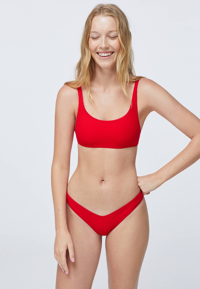 OYSHO - Bikinibroekje - red