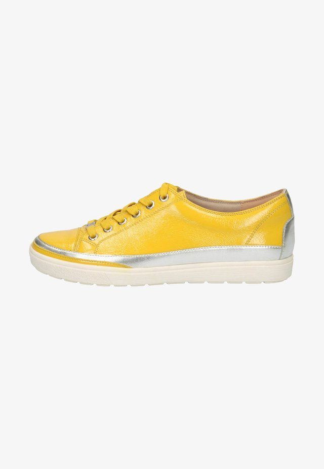 Sneakers laag - lemon naplak