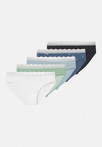 5 PACK - Briefs - blue/pink/green