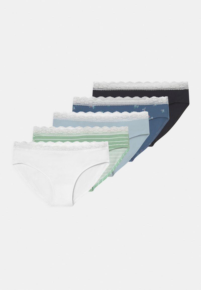 Abercrombie & Fitch - 5 PACK - Briefs - blue/pink/green