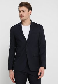 Calvin Klein Tailored - WOOL NATURAL STRETCH FITTED SUIT - Suit - true navy - 2