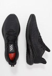 adidas Performance - ALPHABOUNCE+ - Neutral running shoes - core black/tech silver metallic/grey six - 1