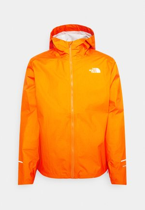 FIRST DAWN PACKABLE JACKET MONTER - Hardshell jacket - flame