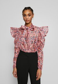 Sister Jane - MISSY FLORAL BOW - Overhemdblouse - pink - 0