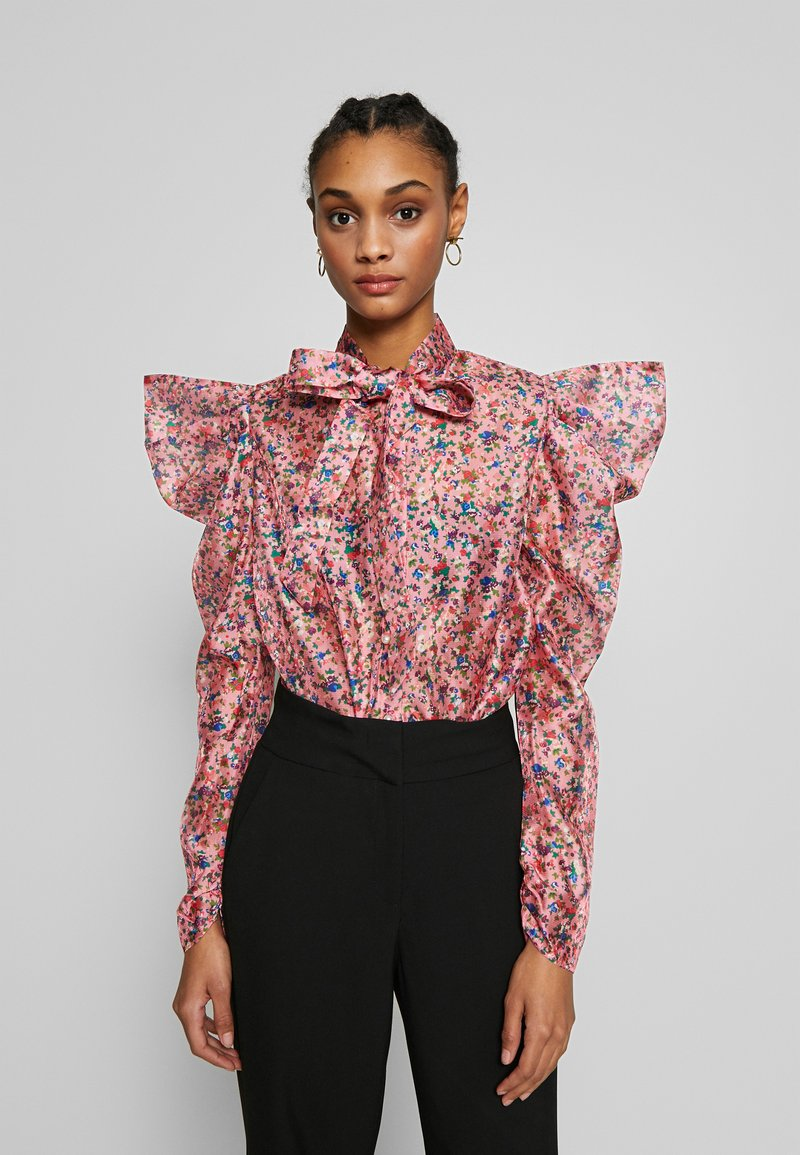 Sister Jane - MISSY FLORAL BOW - Overhemdblouse - pink