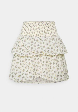 YASCALA SKIRT - Mini skirt - eggnog