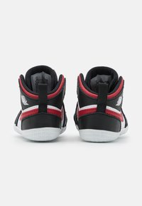 Jordan - 1 CRIB UNISEX - Sports shoes - black/gym red/white - 2