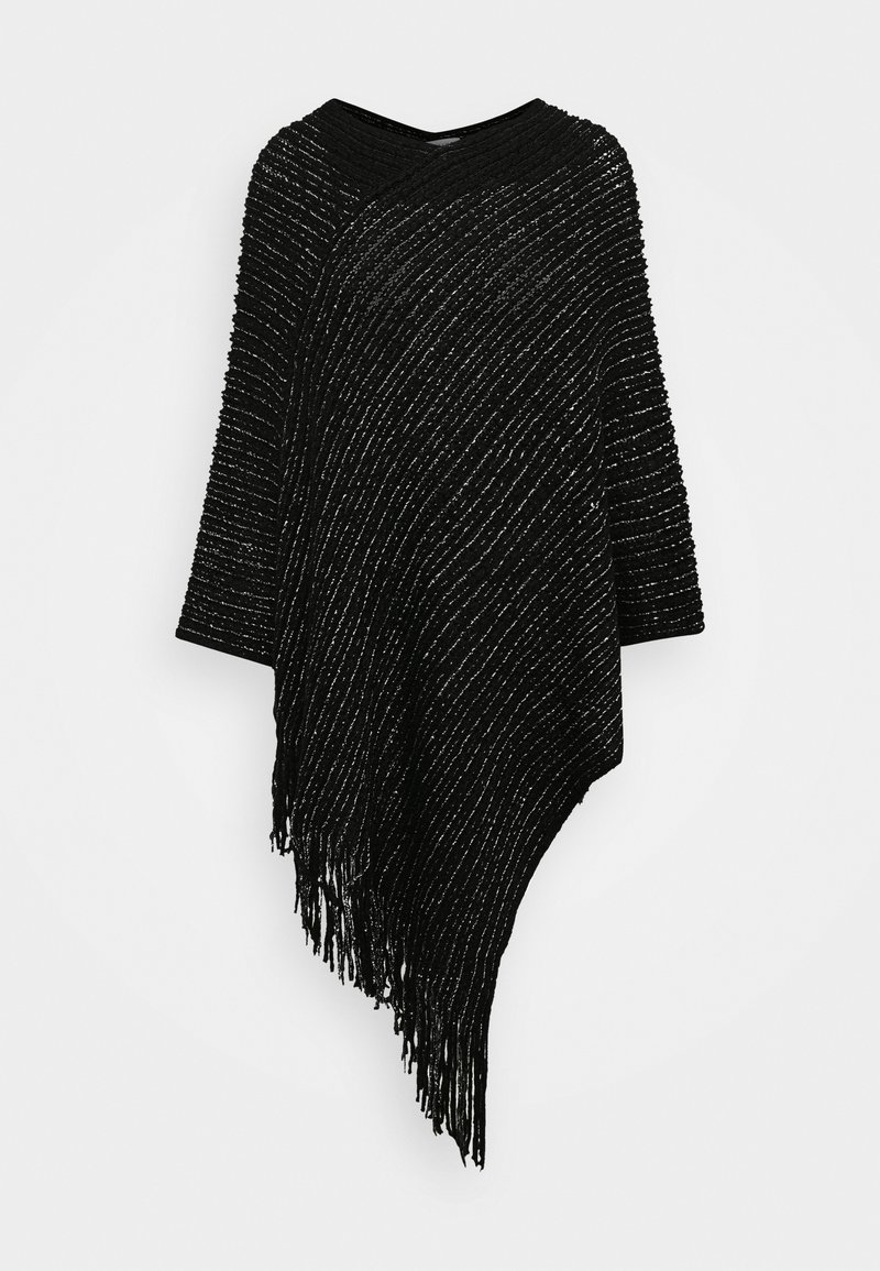 Molly Bracken - LADIES PONCHO - Kapper - black