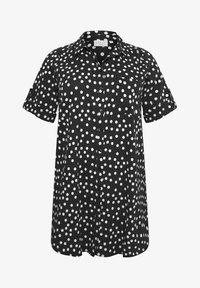 Kaffe Curve - Button-down blouse - black deep - 3