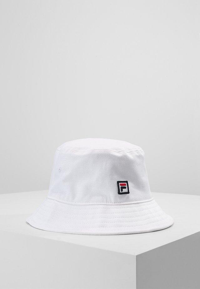 BUCKET HAT - Klobouk - bright white