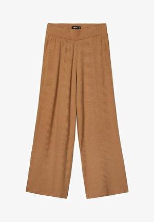 MIT WEITEM BEIN - Trousers - thrush