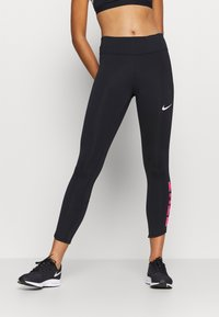 Nike Performance - FAST - Legginsy - black - 0