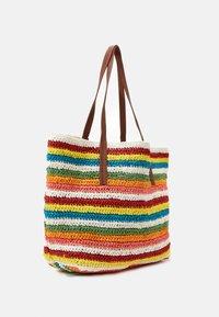 J.CREW - RAINBOW STRIPE MARKET TOTE - Shopping bag - multicoloured - 1