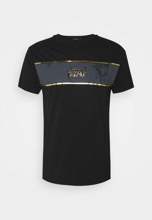 REVOLT TEE - Print T-shirt - black