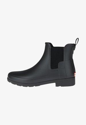 REFINED CHELSEA - Stivali di gomma - black