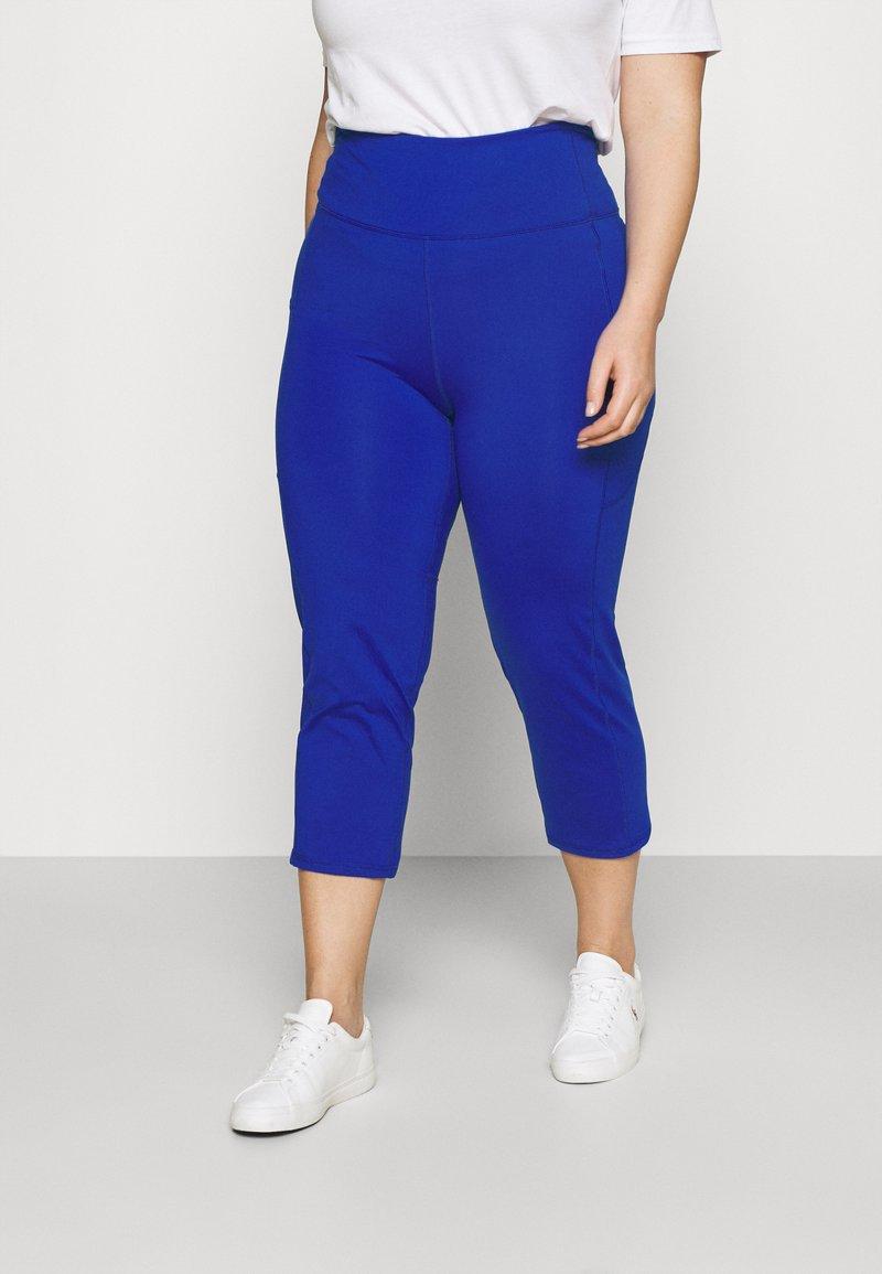 Lauren Ralph Lauren Woman - VARLYN SKINNY PANT - Shorts - sapphire star